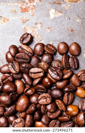 coffee beans - stock photo