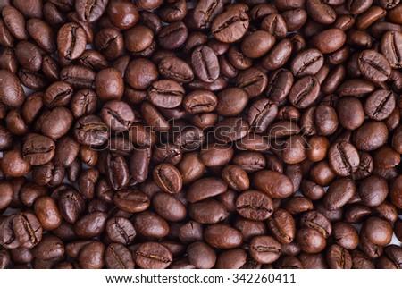 Coffee beans coffee beans - stock photo