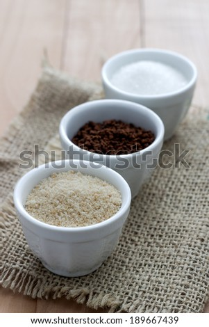 coffee,brown and white sugar-food and drink