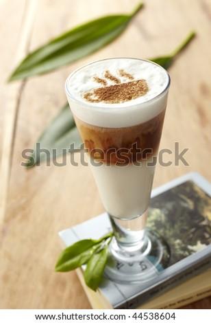 coffee caramel - stock photo