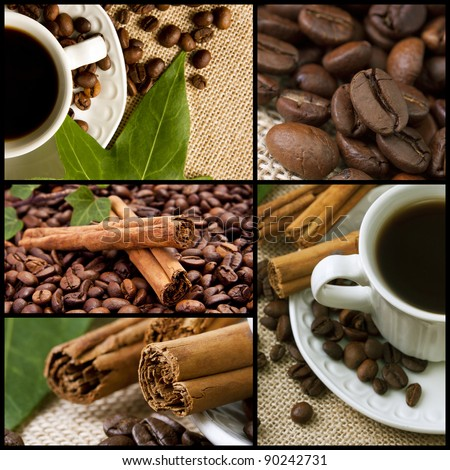 coffee collection - stock photo