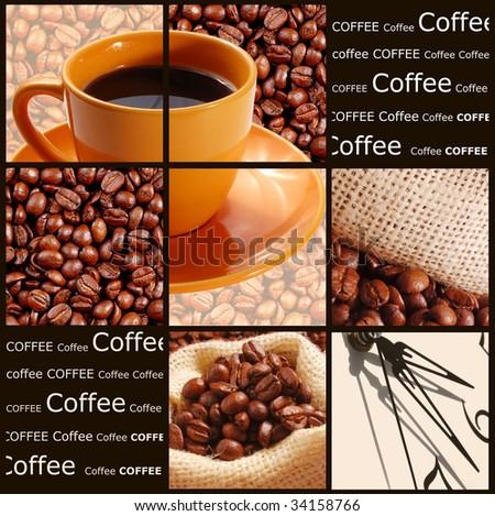 Coffee concept - stock photo