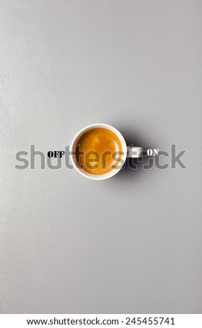coffee  conception - stock photo
