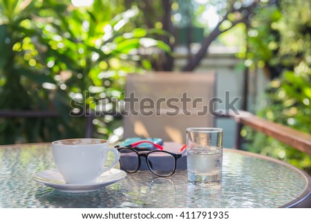 coffee corner - stock photo