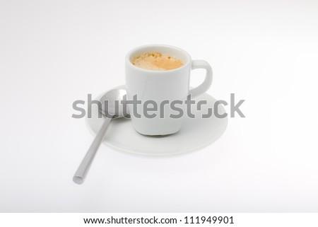 Coffee cup, espresso - stock photo