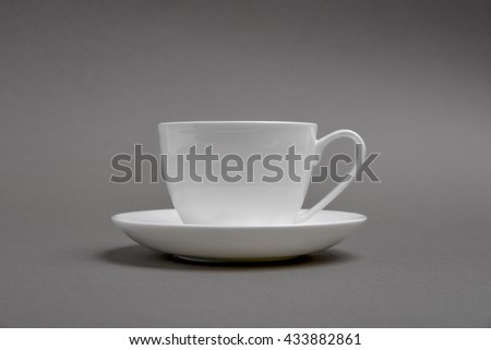 coffee cup mock up - stock photo
