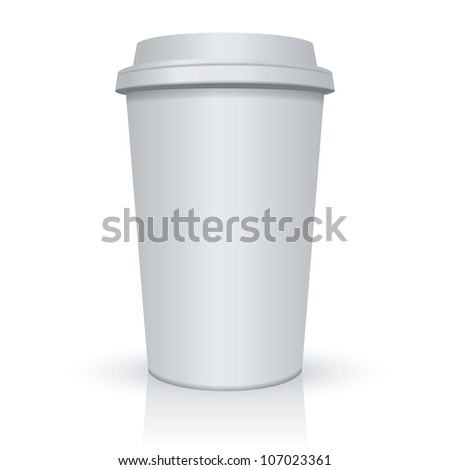 Coffee Cup. Raster version, vector file id: 106486901 - stock photo