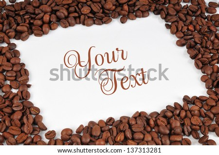 coffee frame