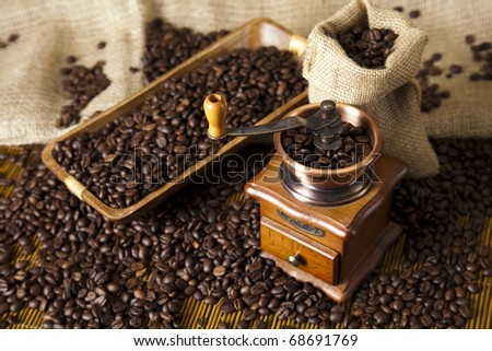 Coffee grinder, Old fashioned coffee