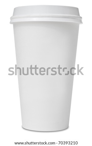 Coffee hot drinking cup - stock photo