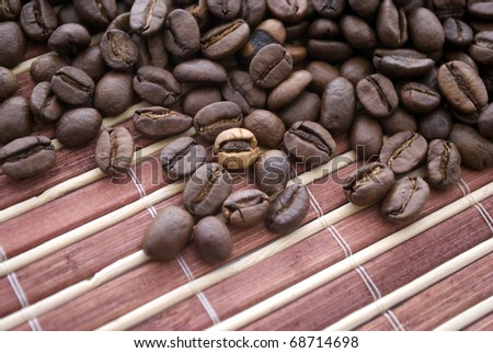Coffee in grains
