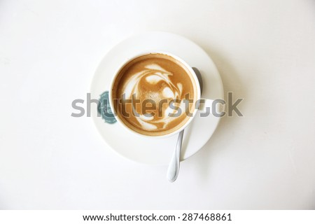 coffee in nature - stock photo