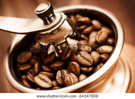 Coffee Mill - stock photo