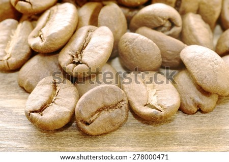 coffee, roast, isolated,extraordinary flowers,  table, natural, agriculture, copy, caffeine, white, pot, brown, coffee, beverage, drink, concept, leaf, grind, break, bean, cappuccino, ingredient,   - stock photo