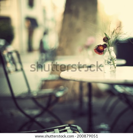 Coffee Shop - stock photo