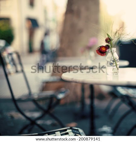 Coffee Shop - stock photo