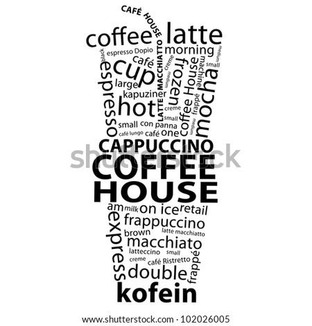 Coffee Tags - stock photo