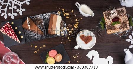Coffee theme photo - stock photo