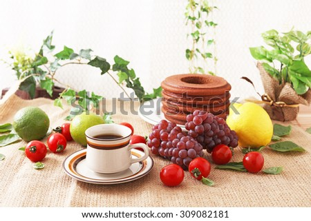 Coffee time - stock photo