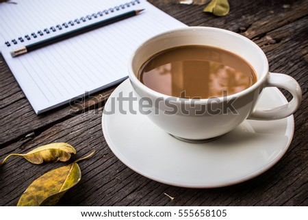 Coffee Time in morning
