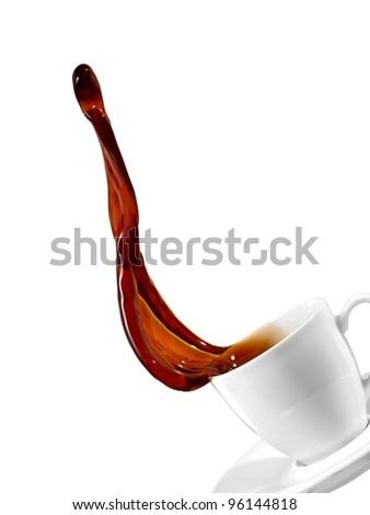 Coffee up - stock photo