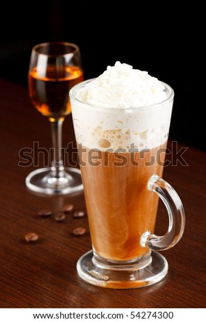 coffee with amaretto