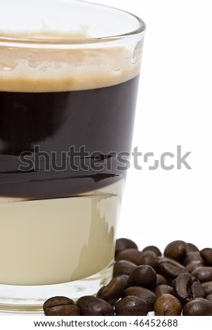Coffee with condensed milk.