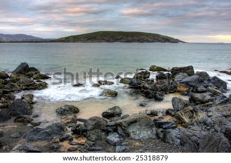 Coffs Harbour and Mutton Bird Island in Northern NSW, Australia