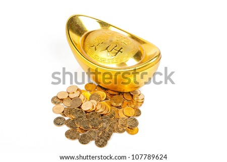 Coin and ingot