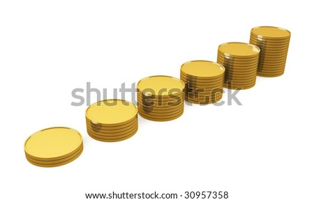 Coin Bar Graph