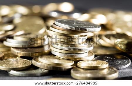 coin. close - stock photo