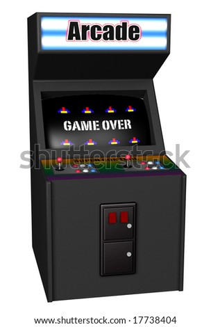 Coin Op - stock photo