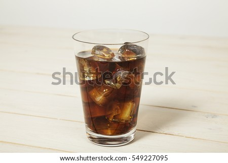Coke with ice