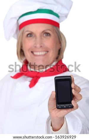 cokk teaching mobil - stock photo