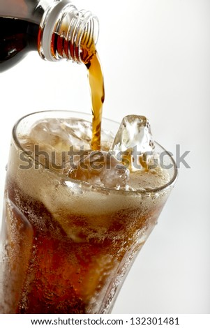 cola, - stock photo