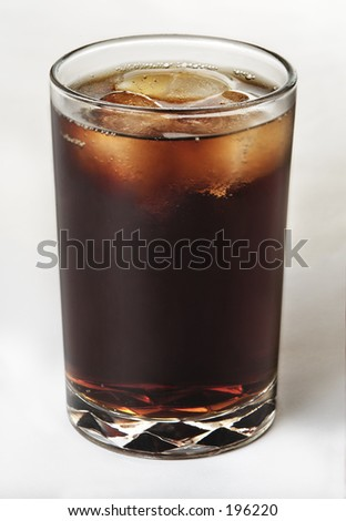 cola stylish - stock photo