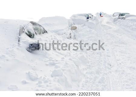 Cold - stock photo