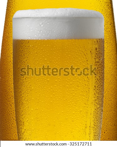 COLD BEERS - stock photo