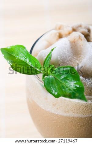 cold coffee - stock photo