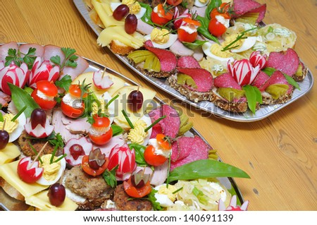 Cold plate - stock photo