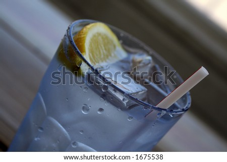 cold water - stock photo
