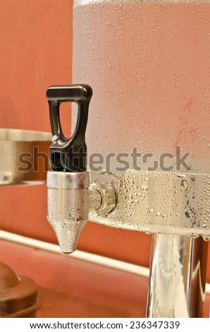 Cold water dispensers, water cooler - stock photo