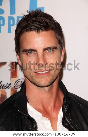 "Colin Egglesfield at the ""Life Happens"" Los Angeles Premiere, AMC Century City 15, Century City, CA 04-02-12"