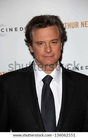 "Colin Firth at the ""Arthur Newman"" Premiere, Arclight, Hollywood, CA 04-18-13"
