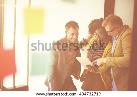 Collaborate Alliance Assistance Business Union Concept - stock photo
