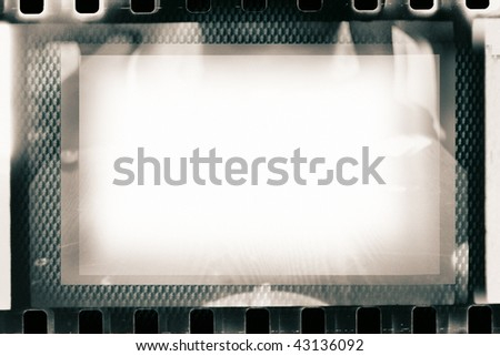 collage of film strips, may use as a background - stock photo