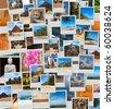 Collage of images of Sri Lanka - stock photo