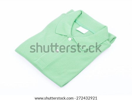 Collared Shirt  isolated on white