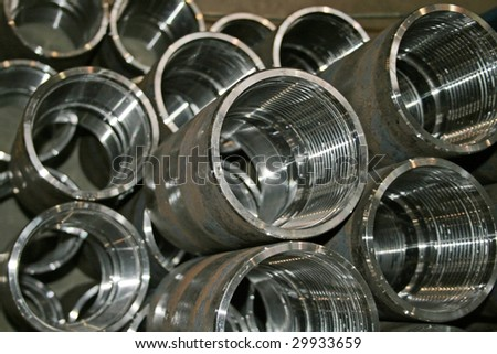 collars for stalk - stock photo