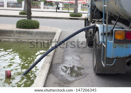 collection car, working. - stock photo